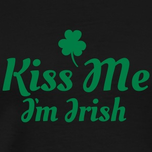 kiss me i'm irish excellent Tank Tops - Camiseta premium hombre