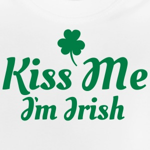kiss me i'm irish excellent Manches longues - T-shirt Bébé