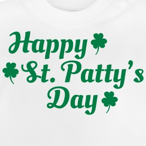 happy st patty's day Long Sleeve Shirts - Baby T-Shirt