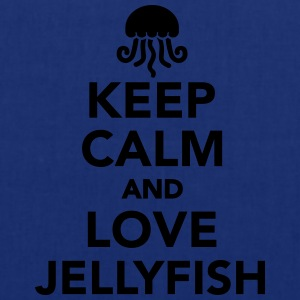 Keep calm and love jellyfish T-Shirts - Stoffbeutel