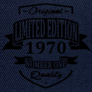 Limited Edition 1970 T-skjorter - Snapback-caps