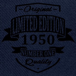 Limited Edition 1950 Magliette - Snapback Cap