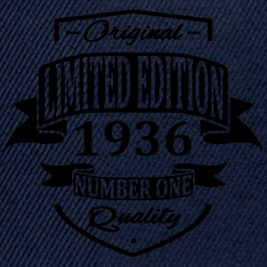 Limited Edition 1936 T-Shirts - Snapback Cap