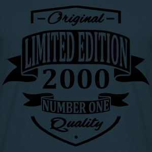 Limited Edition 2000 Pullover & Hoodies - Männer T-Shirt