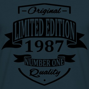 Limited Edition 1987 Hoodies & Sweatshirts - Men's T-Shirt