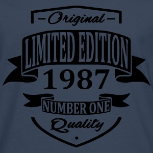 Limited Edition 1987 Hoodies & Sweatshirts - Men's Premium Longsleeve Shirt