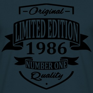 Limited Edition 1986 Gensere - T-skjorte for menn