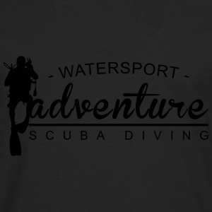 Watersport Adventure - Scuba Diving - Männer Premium Langarmshirt