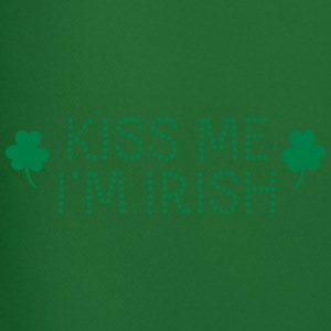 kiss me i'm irish dotted / shamrock / st paddy's T-Shirts - Men's Football shorts