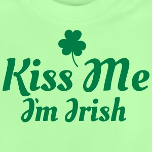 kiss me im Irish excellent Shirts - Baby T-shirt