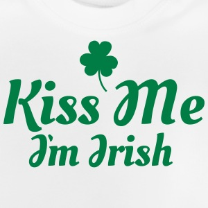 kiss me im Irish excellent T-shirts - Baby T-shirt