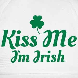kiss me im Irish excellent T-Shirts - Baseball Cap