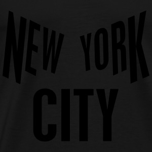 New York City Sportsklær - Premium T-skjorte for menn