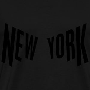 New York Gensere - Premium T-skjorte for menn