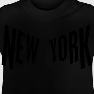 New York Camisetas - Camiseta bebé