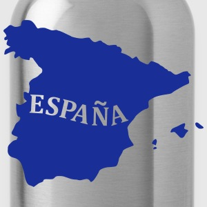 Karte Spanien, Spain, Map Borse & zaini - Borraccia