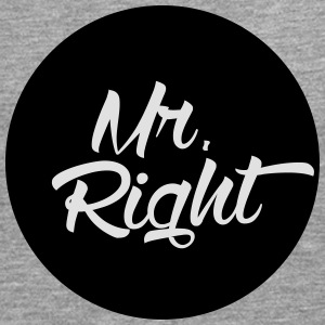 Mr. Right T-Shirts - Men's Premium Longsleeve Shirt