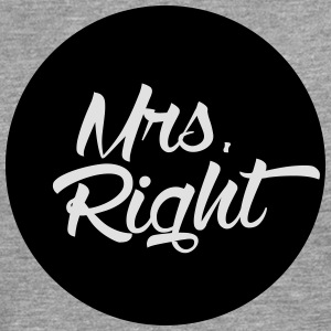 Mrs. Right T-Shirts - Men's Premium Longsleeve Shirt