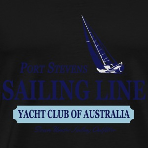 Sailing Line Tops - Men's Premium T-Shirt