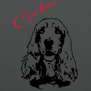 Cocker T-Shirts - Stoffbeutel