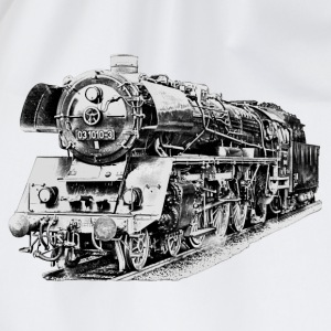 steam locomotive Shirts - Drawstring Bag