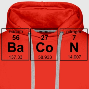 Bacon Periodic Table T-Shirts - Men's Premium Hoodie