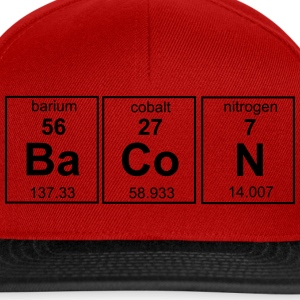 Bacon Periodic Table T-Shirts - Snapback Cap