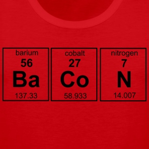 Bacon Periodic Table T-Shirts - Men's Premium Tank Top