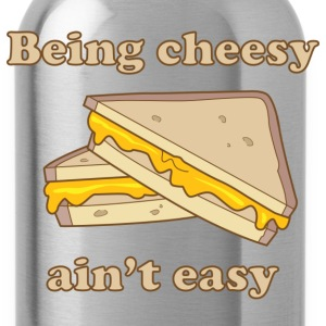 Being Cheesy Ain't Easy T-Shirts - Water Bottle