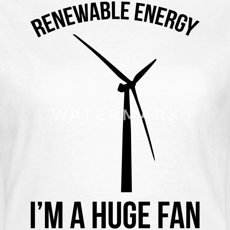 Renewable Energy T-shirts - Dame-T-shirt