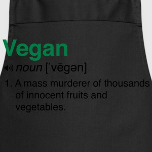 Vegan Definition  T-Shirts - Cooking Apron