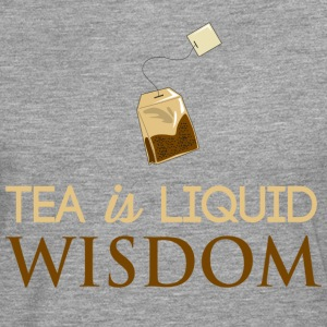 Tea Is Liquid Wisdom T-Shirts - Men's Premium Longsleeve Shirt