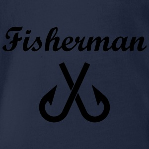 Fisherman Shirts - Organic Short-sleeved Baby Bodysuit
