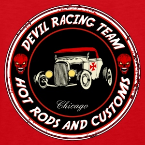 Devil racing team 01 Hoodies & Sweatshirts - Men's Premium Tank Top