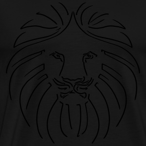 Like a Lion, Reggae King, Rastafari, Music, Rebel Sweatshirts - Herre premium T-shirt