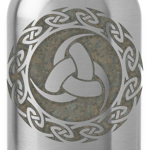 Triple Horn of Odin, Celtic Knot, Odin Symbol Magliette - Borraccia