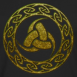 Triple Horn of Odin, Celtic Knot, Odin Symbol T-Shirts - Men's Premium Longsleeve Shirt