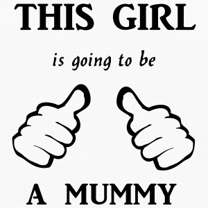 this_girl_is_going_to_be_a_mummy T-Shirts - Männer Premium Langarmshirt
