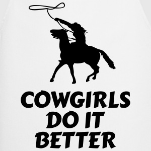 Cowgirls do it better Hoodies & Sweatshirts - Cooking Apron