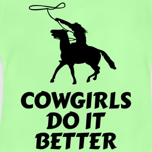 Cowgirls do it better Bags & Backpacks - Baby T-Shirt