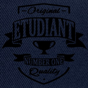Etudiant Tee shirts - Casquette snapback