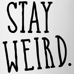 Stay Weird Gensere - Kopp