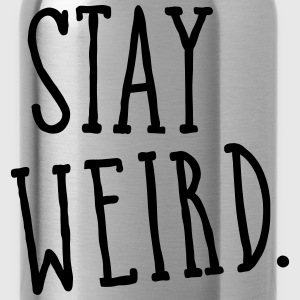Stay Weird Tee shirts - Gourde