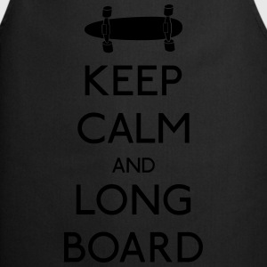 Keep Calm Longboard Tops - Cooking Apron