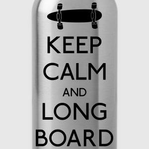 Keep Calm Longboard Shirts - Water Bottle