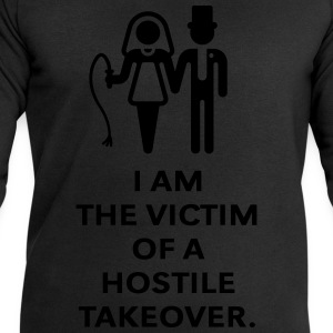 Victim Of Hostile Takeover (Bachelor Party / Groom T-Shirts - Men's Sweatshirt by Stanley & Stella