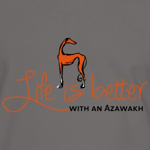 Life is better - Azawakh Bags & Backpacks - Men's Ringer Shirt