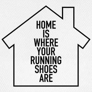 Home Is Where Your Running Shoes Are Koszulki - Czapka z daszkiem