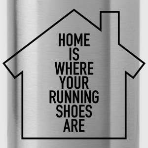 Home Is Where Your Running Shoes Are Torby i plecaki - Bidon