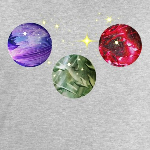 Planets Colourful Cosmic Art by patjila Shirts - Men's Sweatshirt by Stanley & Stella